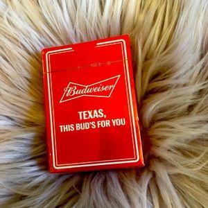 Budweiser Texas Playing Cards